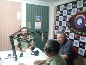 Visitan Radio Quinta